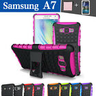 TPU Case Cover For Samsung Galaxy A7 A7000 Shockproof Heavy Duty With Kickstand