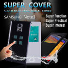 Samsung Galaxy Note III 3 N900 Case Magnet Leather Water proof Cover