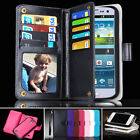 Samsung Galaxy S3 i9300 9305 Case Magnet Leather Coins Wallet Cover