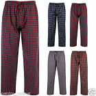 MENS ADULTS COTTON SOFT COMFY LOUNGE PANTS BEDROOM SLEEPING TROUSER BOTTOMS PJ'S