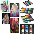 Non-toxic 6 / 12 / 24 / 36 Colors Temporary Hair Color Chalk Dye Pastels Salon Kit DIY