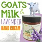 earthbody GOATS MILK & LAVENDER HAND CREAM ~ 100% PURE ~ NATURAL ~ ORGANIC