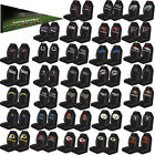 2PC NFL Teams Black Universal Auto Car Truck High Back Bucket Seat Cover Set