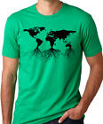 Earth roots environmental t-shirt remember your roots