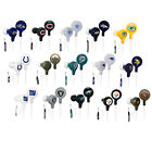 iHip NFL Football Tangle Free Earbuds/Earphones (PICK TEAM)