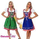 Woman Oktoberfest Beer Maid Wench German Bavarian Heidi Fancy Dress Costume