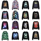 Unisex 3D Graphic Print Pullover Hoodie Hoody Crew Neck Sweater Sweatsuits Suits