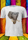 Elephant Drawing Esthetic Tumblr T-shirt Vest Tank Top Men Women Unisex 1834