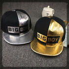 Men Women Snapback Baseball Cap Hip Hop Bboy Kpop Dance Flat Peak Hat Adjustable