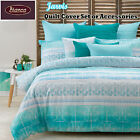 Jarvis Quilt Cover Set or Accessories SINGLE DOUBLE QUEEN KING Super King
