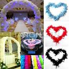 Hot 2M Feather Boa Strip Fluffy Craft Costume Dressup Wedding Party Flower Decor