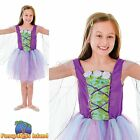 KIDS FANTASY WOODLAND WINGED FAIRY - Age 3-10 - Girls Childs Fancy Dress Costume