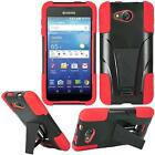 Rugged Silicone Case with Kickstand for Kyocera Hydro Wave