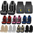 NBA Indiana Pacers Rubber Floor Mat High Back Seat Cover Universal Combo on eBay