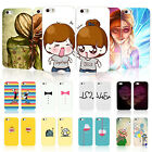 2x Painted Lassie Couple Birthday Gifts Hard Phone Case Cover For iPhone Samsung