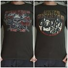 **Lynyrd Skynyrd T-Shirt** Unisex Retro Rock Vest Tank Sizes S M L XL
