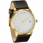 MVMT Classic Leather Watch Mens Unisex Time Piece Wrist Jewelry New