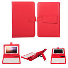 """Universal Wireless Bluetooth Keyboard PU Leather Case Cover For 7"""" Tablet PC Q1"""