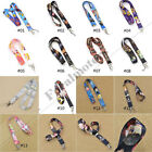Hot Anime Neck Strap Lanyard Sailor Moon SAO Fairy Tail Totoro One Piec New Gift