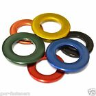 M8 BRASS STAINLESS STEEL Coloured Form A Flat Washers - GWR Colourfast® - Coated