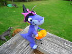 Cute Chomper T-Rex Land Before Time Plush   Stuffed Halloween Bean Bag EUC!