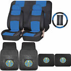 Synthetic Leather Seat Covers NBA Denver Nuggets Rubber Floor Mat Universal on eBay