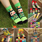 1 Pair Fashion Women Girl 3D Printed Casual Ankle Socks Cotton Warm Socks