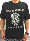 Sons Of Anarchy Reaper Men's T-Shirt (Sized S - XL) Black CHEAP CLEARANCE