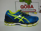ASICS GEL NIMBUS 17 electric blue/flash yellow/indigo blue
