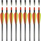 """NEW IRQ Archery Carbon Arrows 400 Target Hunting Target Compound Recurve Bow 31"""""""