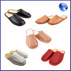 100% Natural Leather & Suede Men's Slippers 6, 7, 8, 9, 10, 11, 12 Best Quality