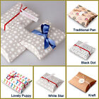 Small 10 pcs Pillow Gift Boxes, Mother's day, Birthday gift, Jewel (Only Boxes)