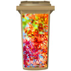 AUTUMN LEAVES WHEELIE BIN STICKER PANEL