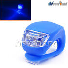 3 Color Led Silicone MTB Bike Bicycle Front Rear Light Set Push Cycle Wheel Clip