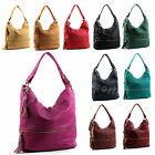 Ladies Womens Large Faux Leather Single Strap Shoulder Bag Tote Shopping Bag