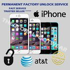 FACTORY UNLOCK PREMIUM SERVICE CODE ATT IPHONE 5 5S 5C 4 4S 6 6+ 3 3GS AT T IMEI