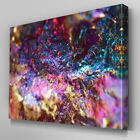 AB544 Twinkle Sparkle Rocks Abstract Canvas Wall Art Ready to Hang Picture Print
