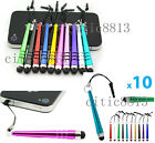 10xMetal Touch Screen Stylus Pen for iPad iPhone Samsung Smartphone Tablet PC CI