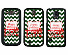 CHRISTMAS RUBBER CASE FOR SAMSUNG S4 S5 S6 EDGE NOTE 3 4 5 CHEVRON HOLLY
