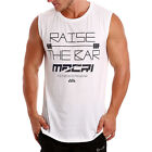 NEW MUSCLE Gym Singlet Training Racerback Y T BACK Cotton Stringer Tank RB