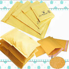 PADDED BUBBLE WRAP BAGS / ENVELOPES 'ALL SIZES' ALL COURIER - GOLD CHEAP