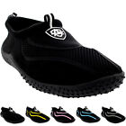 Mens Toggle Surf Aqua Beach Water Socks Sport Yoga Swim Pool Water Shoes UK 5-12
