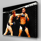 S552 Conor McGregor Chad Mendes KO UFC 189 Canvas Art Framed Poster Print
