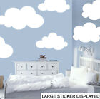 Giant Clouds - Pack of 6 - Wall Art Stickers Murals Bedroom Nursery Sky Decals
