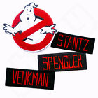 GHOSTBUSTERS Iron Sew On Embroidered Patch Badge Uniform Fancy Dress Costume