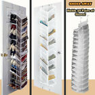 Shoes Rack Organiser 30 Pairs Holder Over Door Hanging Shelf Tower Unit Storage