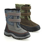Boys Kids Winter Casual Mucker Wellington Warm Fur Snow Ankle Boots Shoes Size