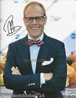 """Alton Brown from Food Network TV Good Eats 8x10"""" reprint Signed Photo #3 RP"""