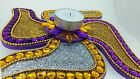 Tea Light Candle Holder Floating diya Swastik Ganesh Hindu Wedding Mandap Decor