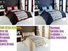 Sleep Time Duvet Cover With Pillow Case,Complete Set With Single Double King